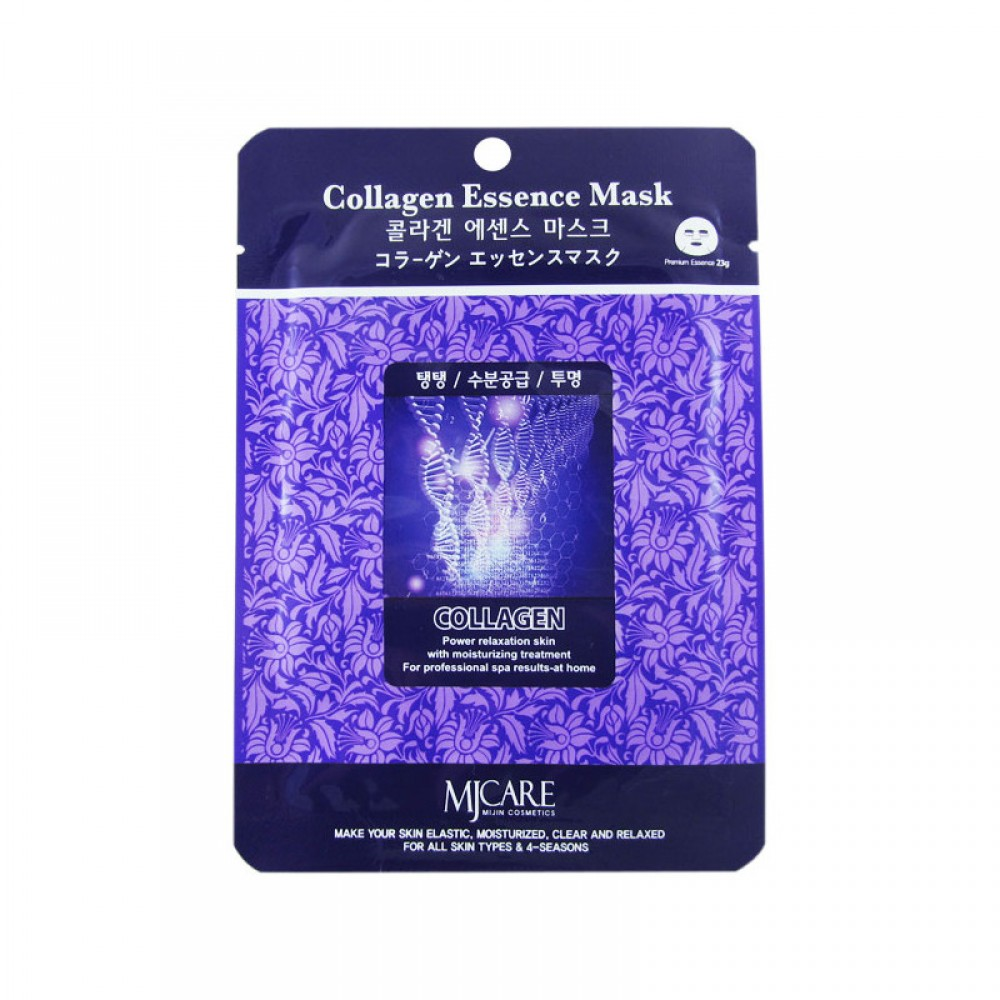 Маска тканевая коллаген Collagen Essence Mask 23гр